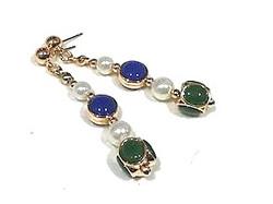 long pendant earrings