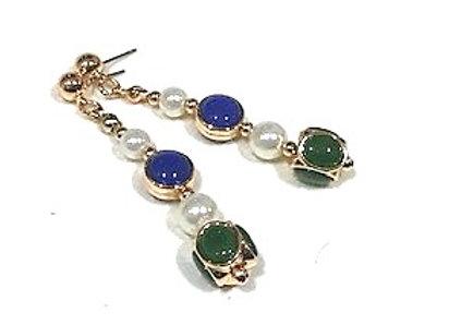 Hyacinth earrings