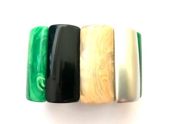 Ivy Bracelet - Emerald green