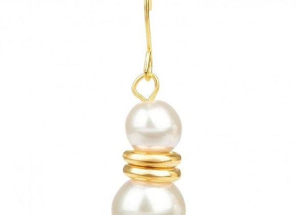 Lilias Pearl Drop Earrings