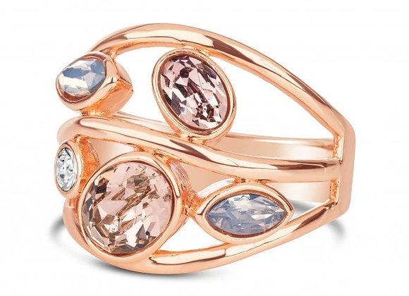 Freesia Rose Gold Ring