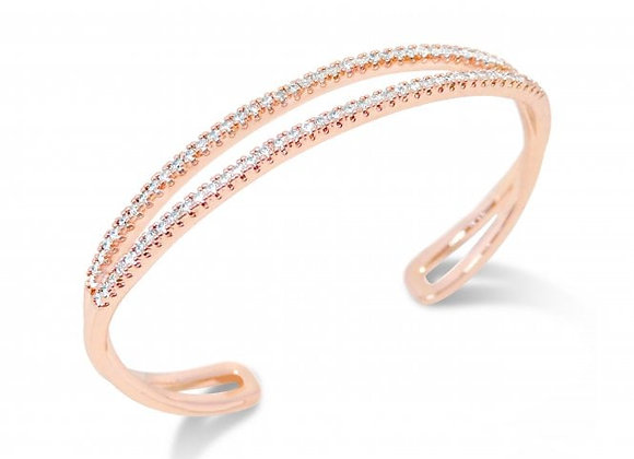 Daisy Rose Gold bangle