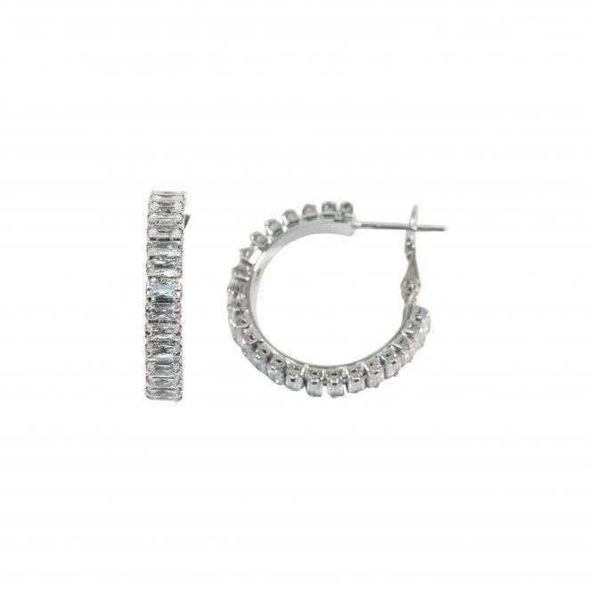 Lupin crystal earrings