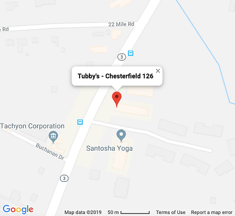 Tubby's - Chesterfield 126