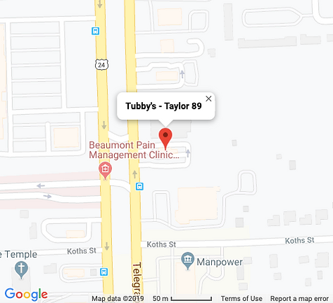 Tubby's - Taylor 89