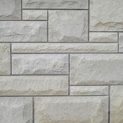 Valders® Dovewhite Dimensional Rockfaced