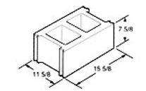 """Best Block - 12"""" Solid Fitting"""