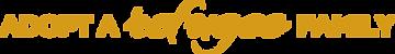 Adopt A Refugee Family Logo