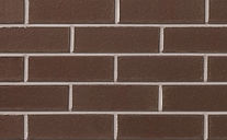 Brampton Brick - Dark Brown Smooth