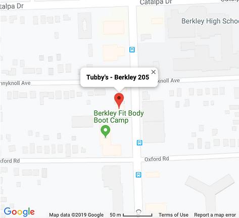 Tubby's - Berkley 205