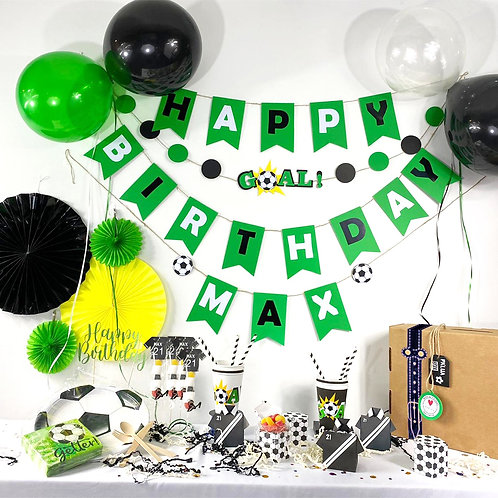 Soccer Lovers Party Kit