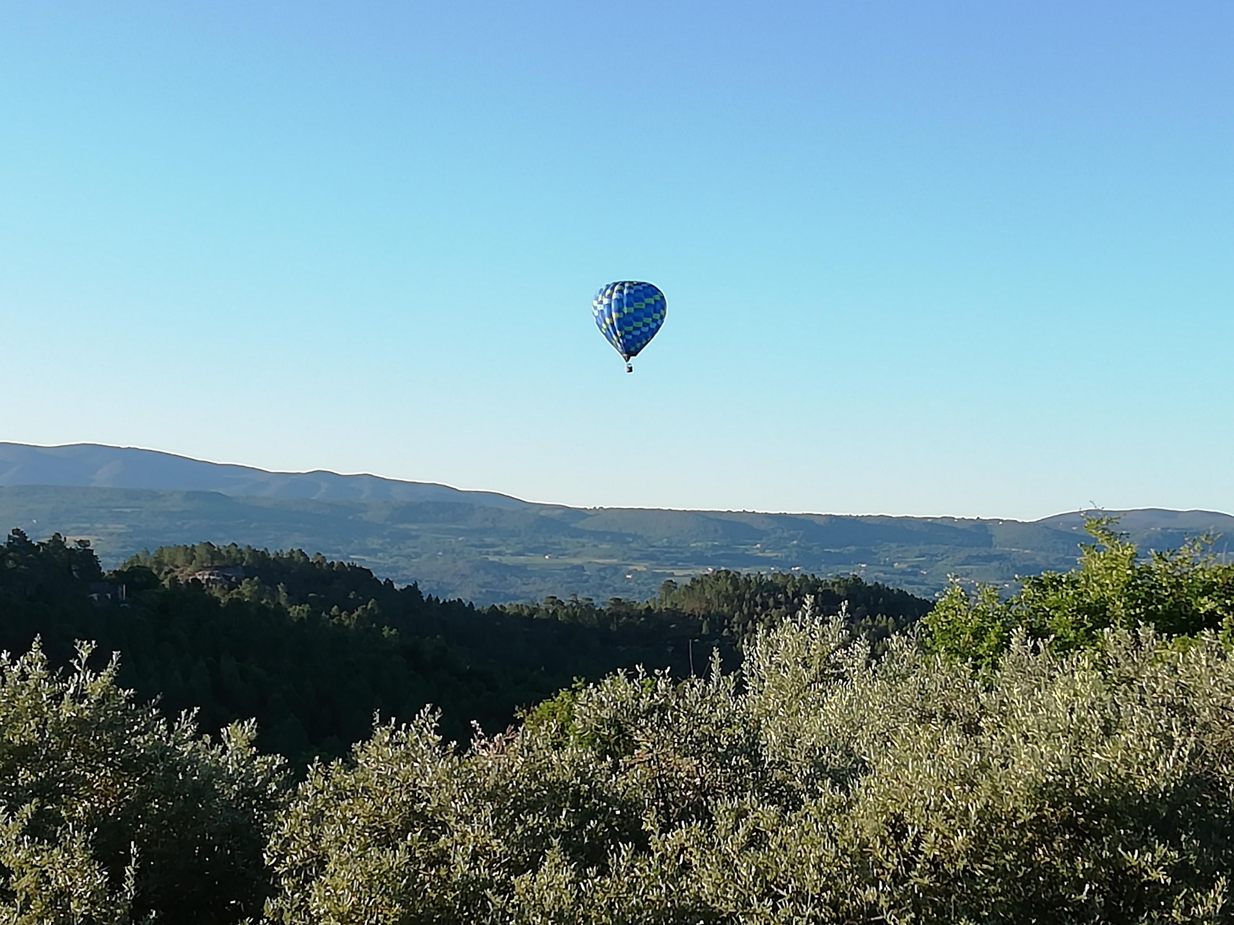 Tour du Luberon en mongolfière