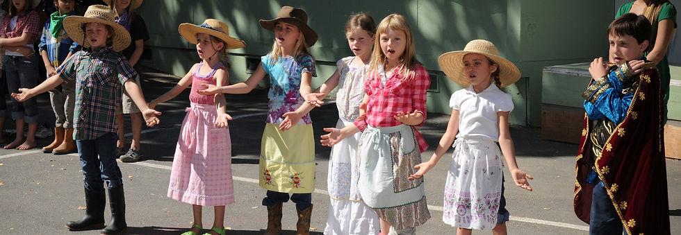Waldorf elementary school play