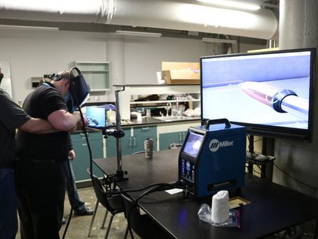 John Deere Showcases  Augmented Reality Welding Simulator to IGNITE Students