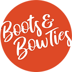 Boots and Bowties Orange Logo.png