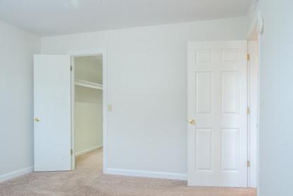 Master Bedroom Walk-in Closet and Door
