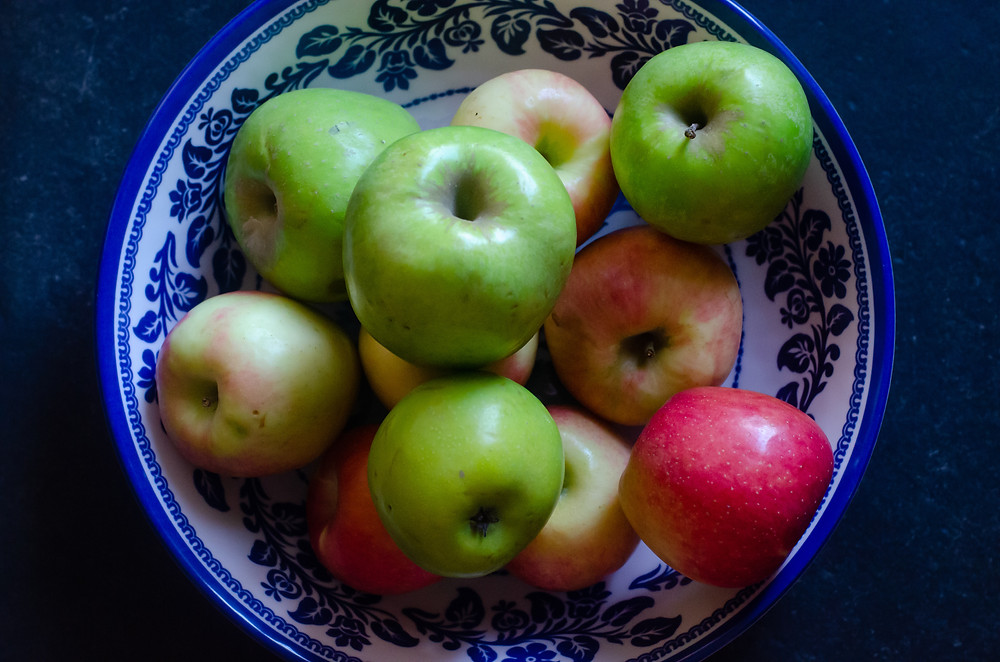 Local Apples from the Mountains of Greenville County, South Carolina