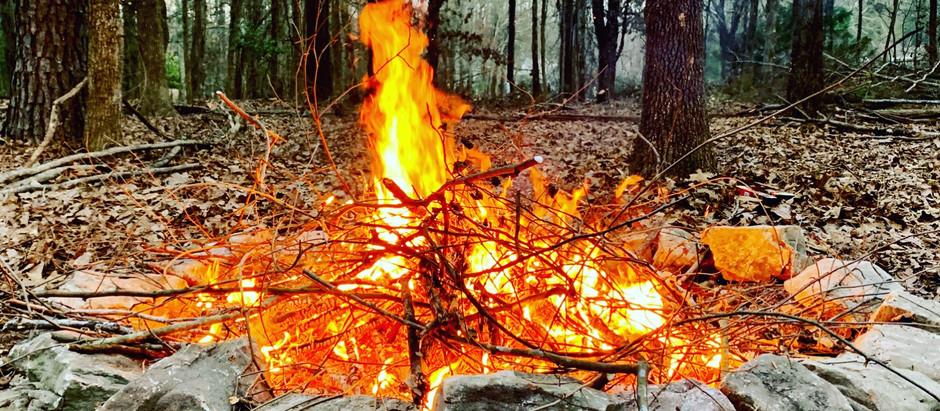 Building a Real Fire Pit- Garden Journal