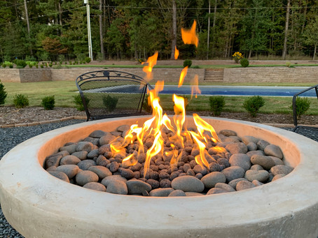 Building an Unconventional Fire Pit
