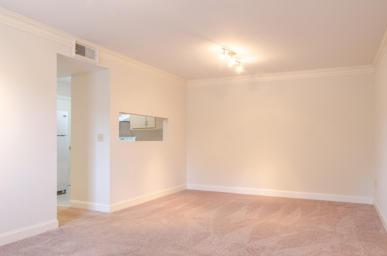 Dining Area in an Upstairs Unit