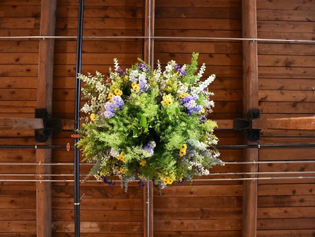 Building a Floral Chandelier? Sure, I can do that! I think?