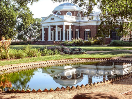 Headlights and Horticulture:  Great Gardens of the World- Monticello