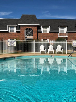 North Gate's Private Pool and Courtyard