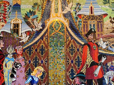 Hidden Secret Art at Disney World That Is Our Favorite