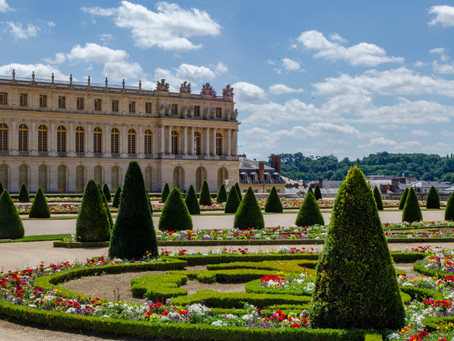 The Mistake and the Golf Cart- Versailles's Gardens