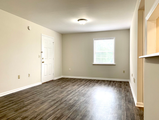 Ground Floor Unit Great Room and Entry