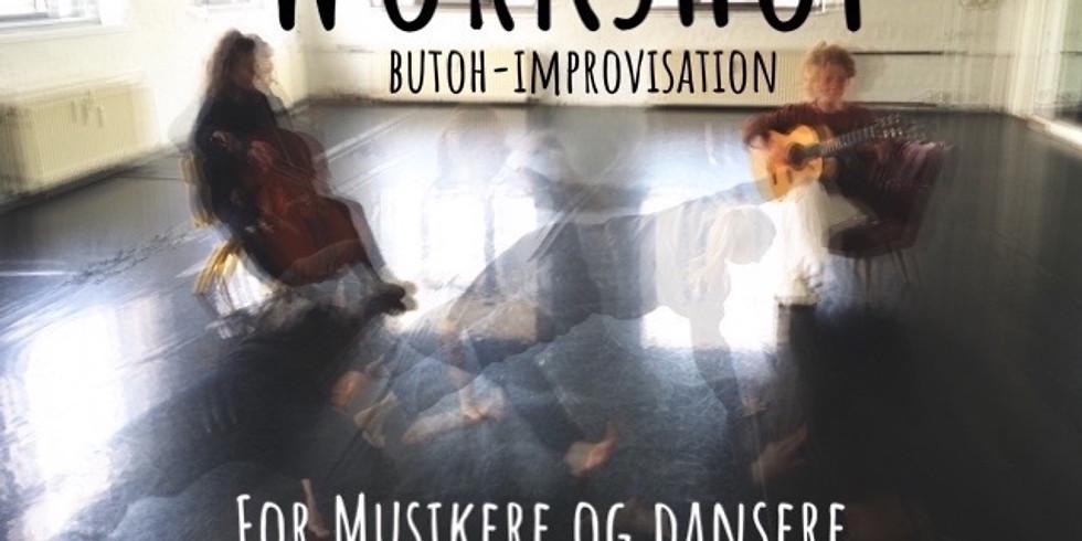 Workshop i butoh-improvisation