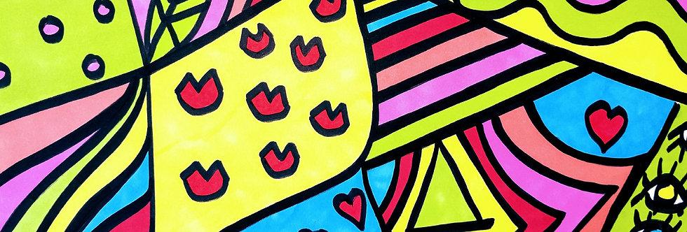 Memphis Pop Art