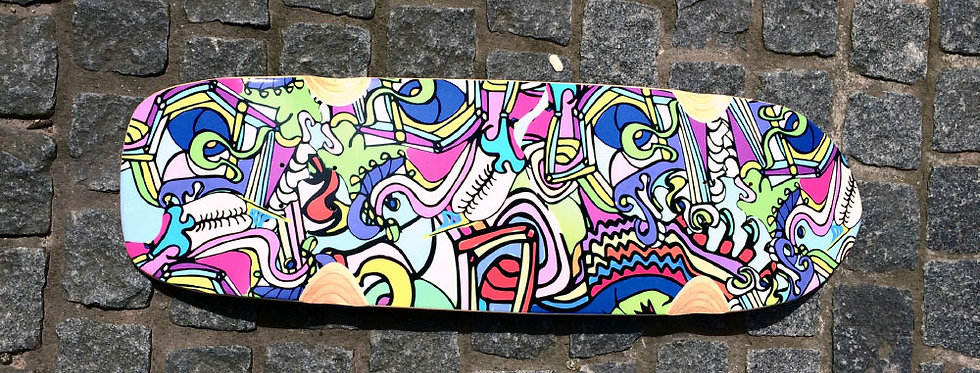 Abstract meets Skater Art #3