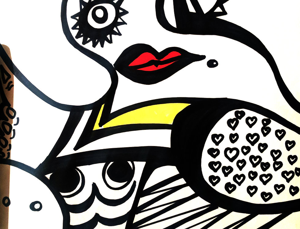 The Lady Loves Picasso