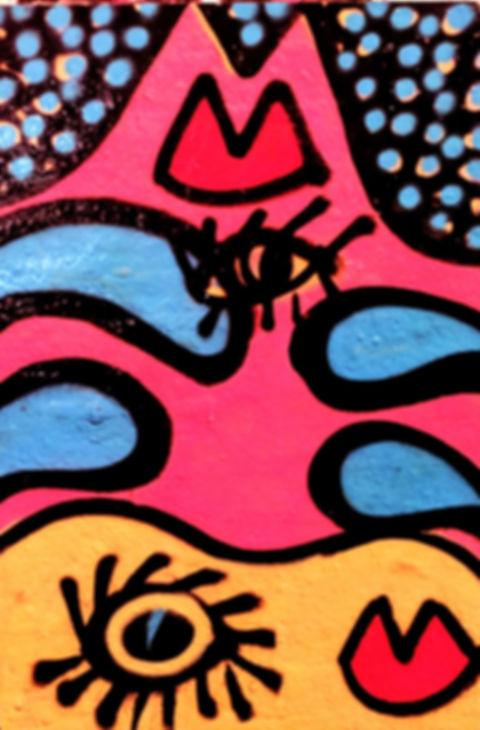 Spray Paint Picasso dances with Emin Ori