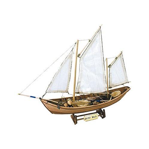 Wooden Model Ship Kit: French Doris Saint Malo 1/20
