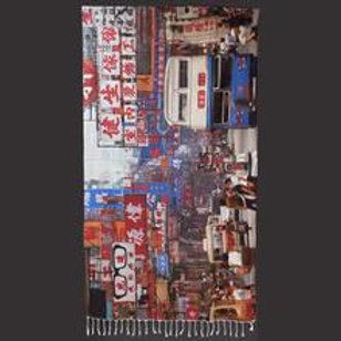 LAMY DRAGONFLY: TOWEL - Blue Bus (1984)