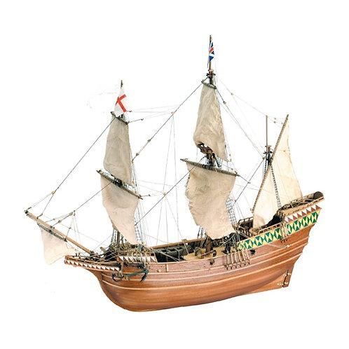 Wooden Model Ship Kit: Mayflower 1/64