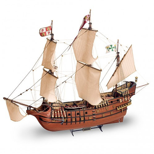 Wooden Model Ship Kit: New Galleon San Francisco II 1/90