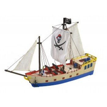 My first wooden kit - Pirate Ship