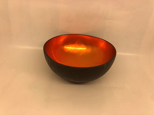 Laque coconut bowl - Orange