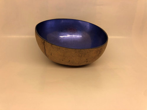Laque coconut bowl - Blue