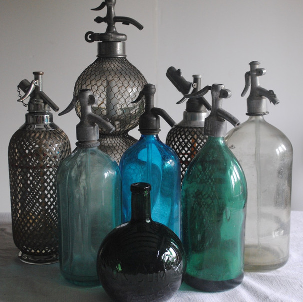 Collection of bottles