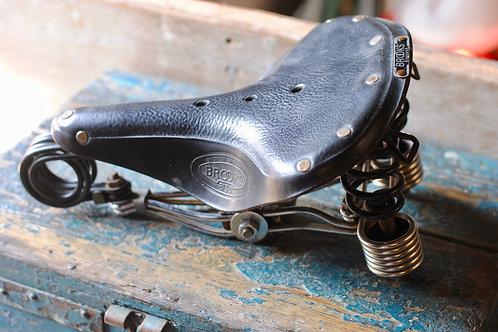 Vintage Brooks Bicycle Saddle