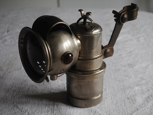 Vintage Carbide Bicycle Lamp