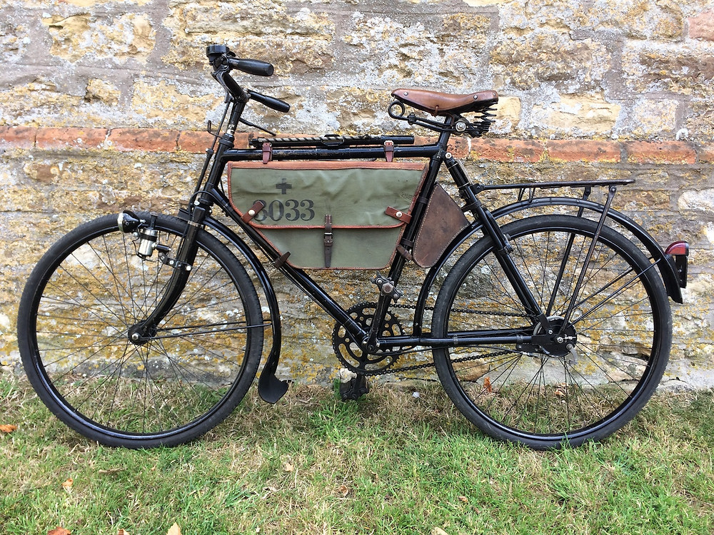 Condor Swiss Army Bicycle with original bags