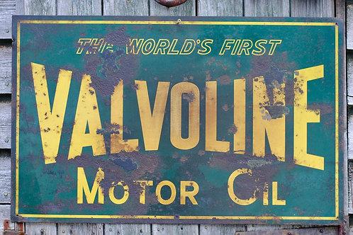 Vintage Valvoline Oil Sign