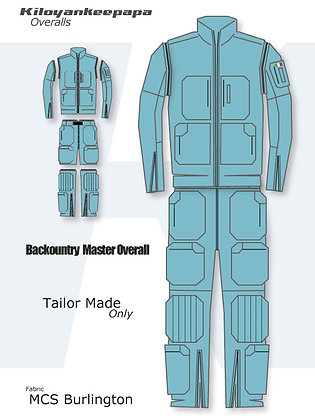 """BACKCOUNTRY MASTER Overal """"BMO"""""""