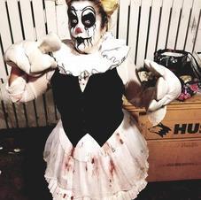 Black and White Clown