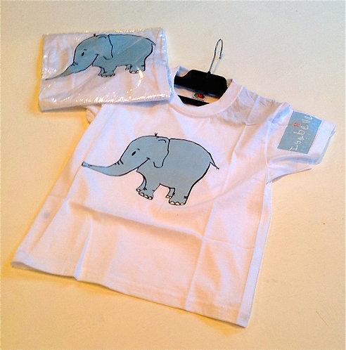Isabella Elephant Kids T-Shirt
